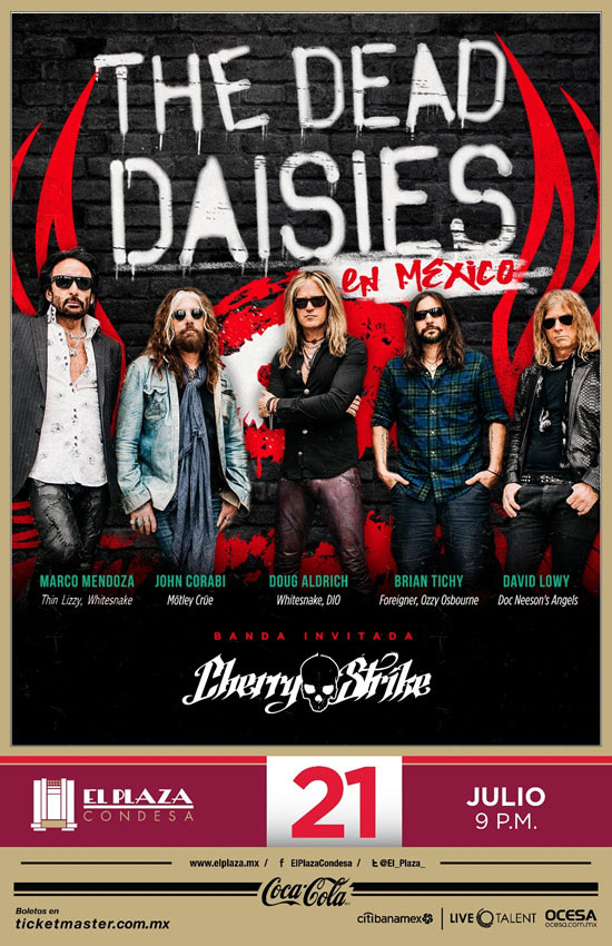 the dead daisies mexico