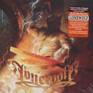 Lonewolf Raised on metal