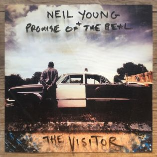 neil young promise of the real the visitor cover